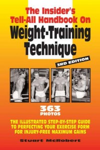 HANDBOOK ON WEIGHT TRAINING TECHNIQUE book.