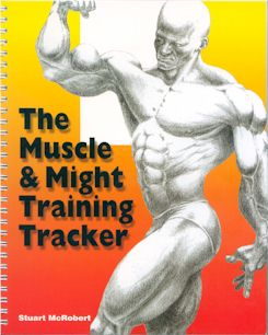 TRAINING TRACKER book.
