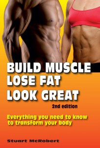 BUILD MUSCLE LOSE FAT LOOK GREAT book.